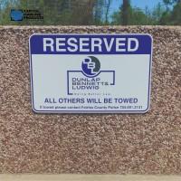 Aluminum Parking Signs #1046
